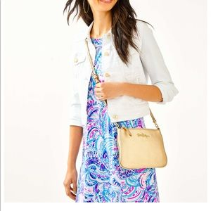 Lilly Pulitzer Bags - NWT Lilly Pulitzer Crusin Crossbody Leather